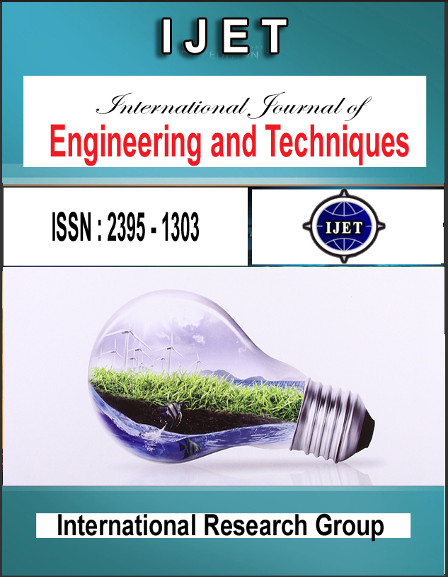 International Journal of Engineering and Techniques(IJET)