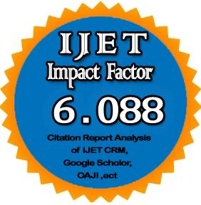 ijet Impact factor